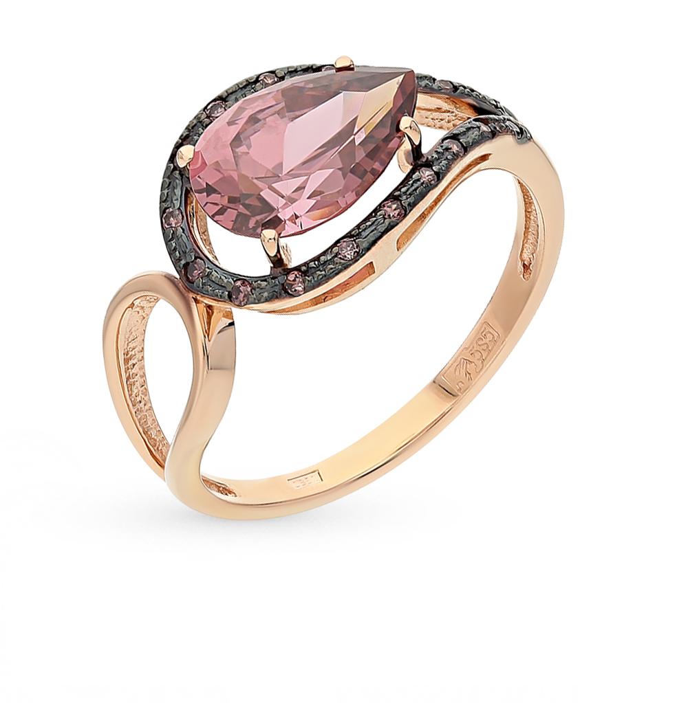Фото «золотое кольцо с родолитами»
