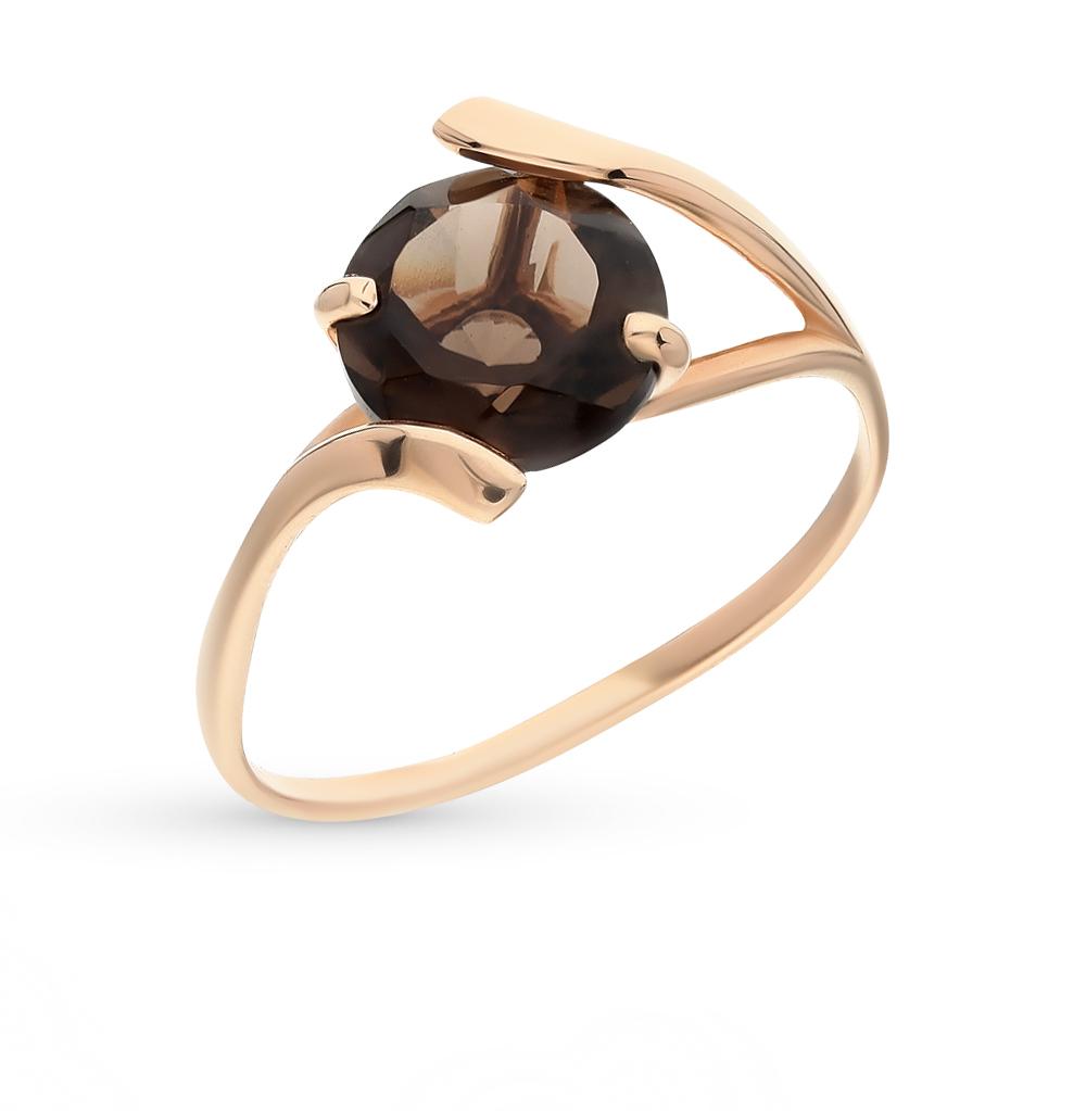 Фото «золотое кольцо с раухтопазами»
