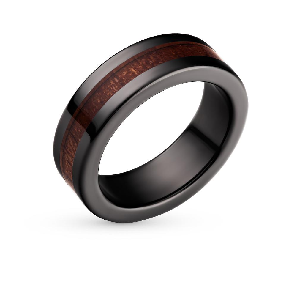 Фото «кольцо из керамики с деревом»