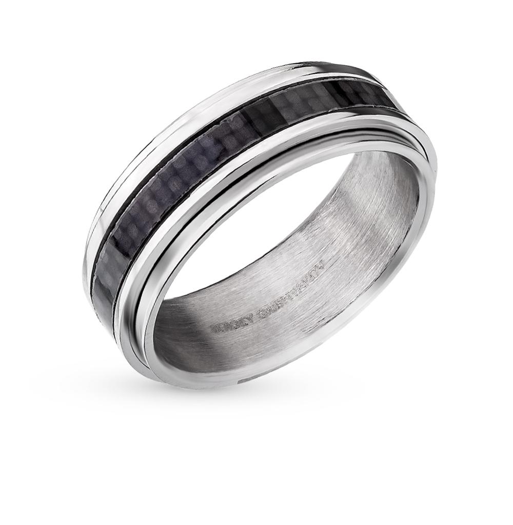 Фото «кольцо из стали с карбоном»