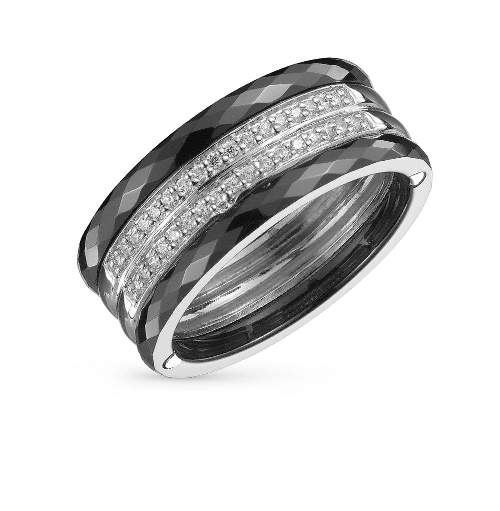 Фото «кольцо из серебра и керамики с алпанитом»