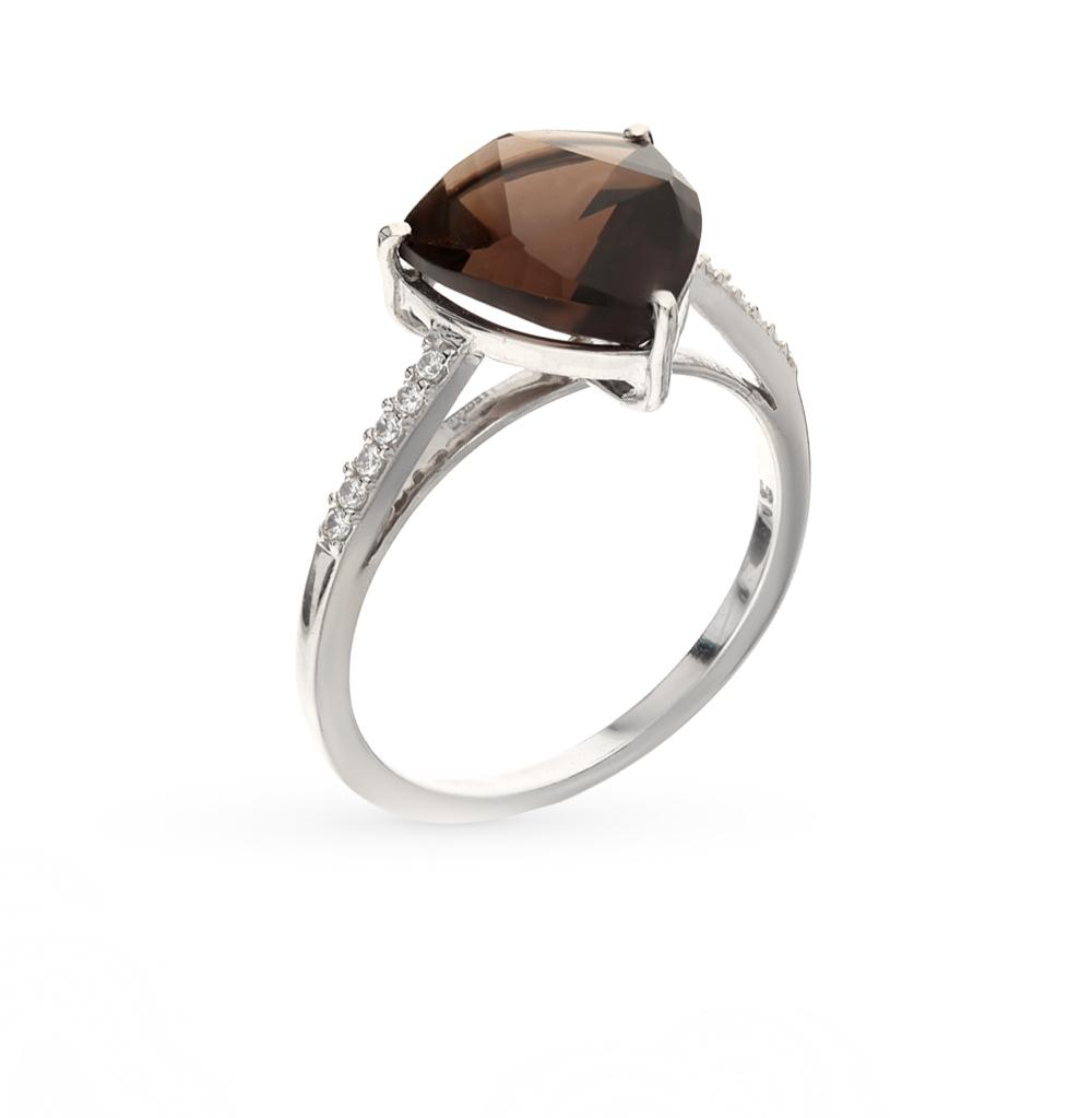 Фото «Серебряное кольцо с раухтопазом»